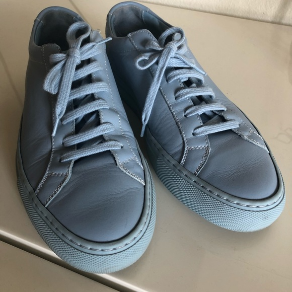 Baby Blue Common Projects | Poshmark